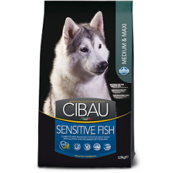 CIBAU Superpremium Fish Sensitive Medium&Maxi 10+2kg